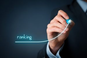 Concept shot of increasing your website ranking