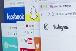 Social media websites