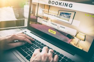 Hotel website booking