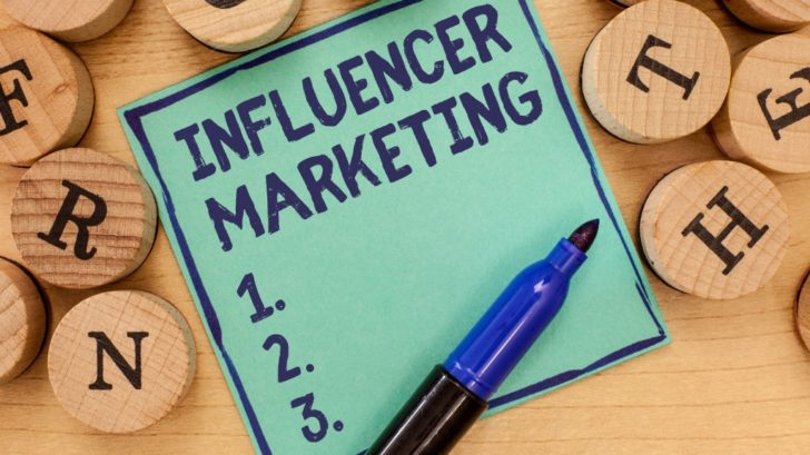 Influencer Marketing illustration
